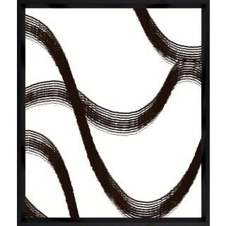 Art Virtuoso 'Black Lines' Framed Art Print