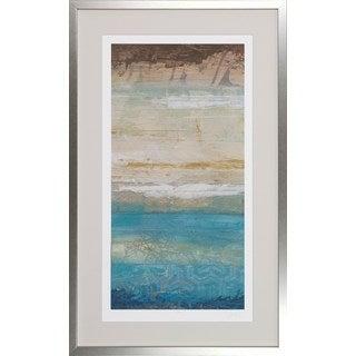 June Erica Vess 'Ocean Strata' Framed Art Print