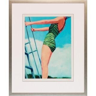'Classic Swimmer' Framed Art Print