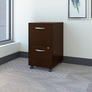 Bush Business Furniture Series C2 Mocha Cherry Drawer Mobile Pedestal|https://ak1.ostkcdn.com/images/products/12525224/P19329530.jpg?impolicy=medium