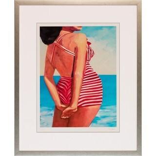 Classic Swimmer Framed Art Print