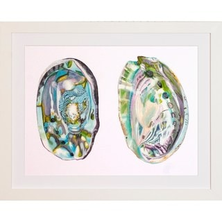 Art Virtuoso Naomi McCavitt 'Abalone Shells' Framed Art Print