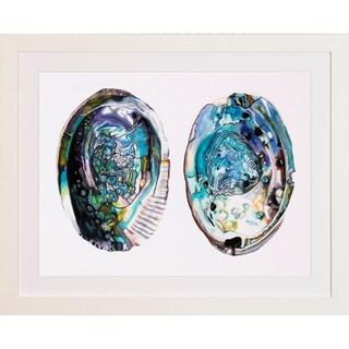 Abalone Shells Framed Art Print