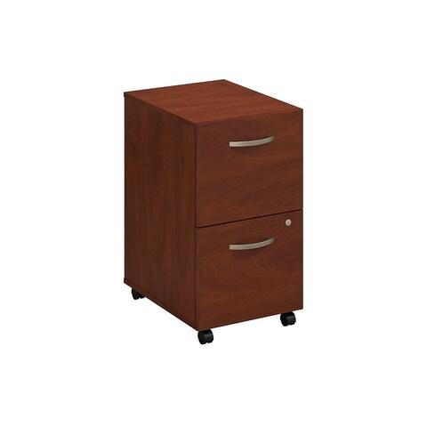 Series C Elite 2 Drawer Mobile File Cabinet in Hansen Cherry