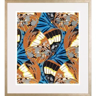 'Butterfly Pattern' Framed Art Print