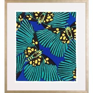 E.A. Seguy 'Butterfly Pattern' Framed Art Print