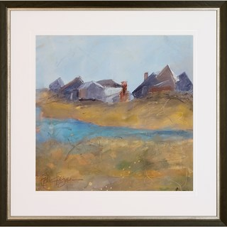 Edie Fagan 'Nantucket Wind' Framed Giclee-print Wall Art