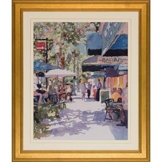Art Virtuoso 'Water Color Street Scenes' Vertical Framed Art Print