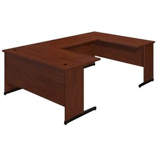 Bush Business Furniture Series C Elite Hansen Cherry 60-inch C Leg U Station Desk