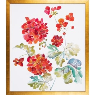Cranesbills Framed Art Print