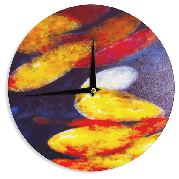 KESS InHouse Rosie Brown 'Into The Light' Wall Clock