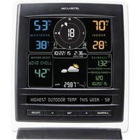 AcuRite Pro 5-in-1 Color Weather Station with Wind and Rain (Dark The