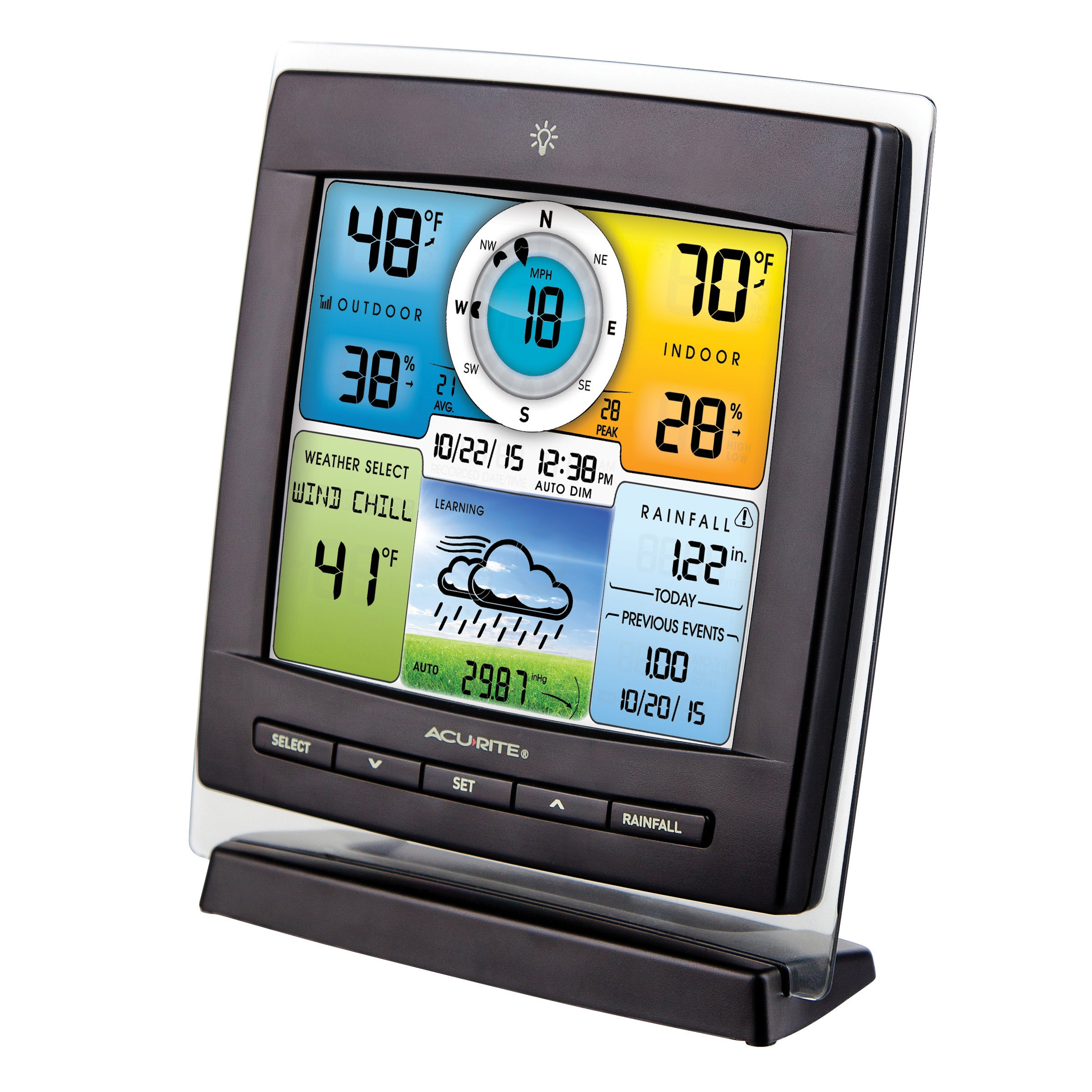 Chaney Instrument AcuRite 5-in-1 Color Weather Station