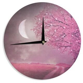 KESS InHouse Monika Strigel 'Song of the Springbird' Wall Clock