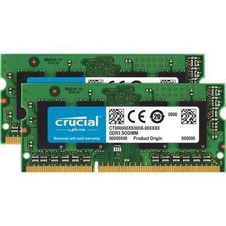 Crucial 32GB (2 x 16 GB) DDR3L SDRAM Memory Module