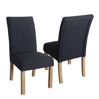 HomePop Kristin Tufted Dining Chair - Set of 2