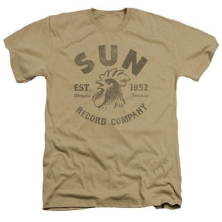 Sun/Vintage Logo Adult Heather T-Shirt in Sand