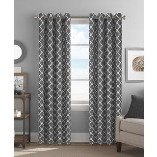 Colordrift Camden Polyester 84-inch Grommet Top Curtain Panel