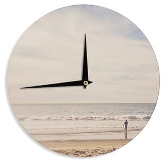 KESS InHouse Myan Soffia 'Ritual' Beach Sand Wall Clock