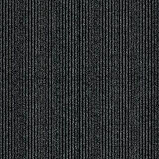 """Multy 1000124 26"""" X 50' Charcoal Concord Vinyl Mat Floor Runner"""