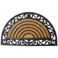 "J & M Home Fashions 4520 18"" X 30"" Tuffridge Heavy Wrought Iron Arch Doormat"
