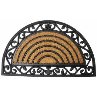 "J & M Home Fashions 4520 18"" X 30"" Tuffridge Heavy Wrought Iron Arch Doormat"