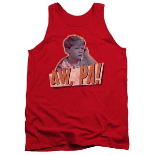 Andy Griffith/Aw Pa Adult Tank in Red