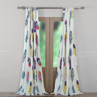 Greenland Home Fashions Dream Catcher Window Curtain Panel Pair