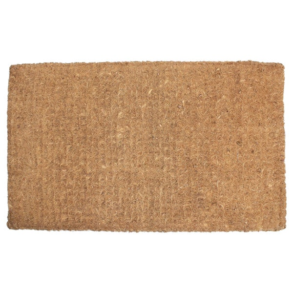 "J & M Home Fashions 4213 20"" X 33"" Imperial Coco Plain Doormat"
