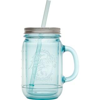 Aladdin 10-01538-001 20 Oz Blue Classic Mason Jar