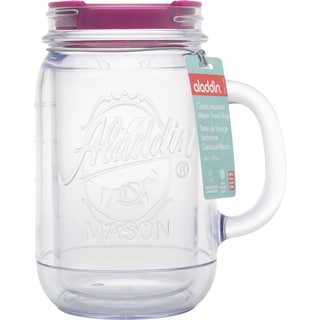 Aladdin 10-01538-037 20 Oz Insulated Mason Tumbler Assorted Colors
