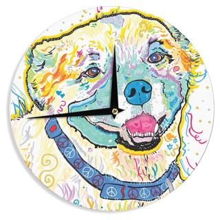 KESS InHouse Rebecca Fischer 'Milo' Wall Clock
