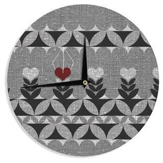 KESS InHouse Nick Atkinson 'Unique' Wall Clock