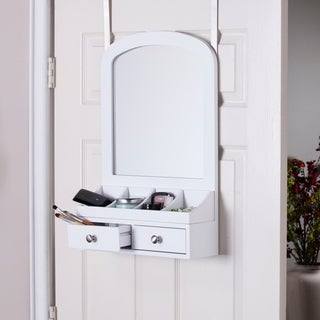 Harper Blvd Marsha Over-the-Door Jewelry Mirror/ Accessory Organizer