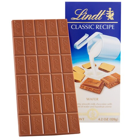 Lindt Classic Recipe Wafer Bar (Pack of 12)