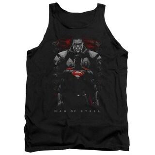 Man Of Steel/Man Behind Adult Tank in Black