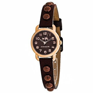 Coach Women's 14502409 Delancey Watches