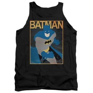 Batman/Simple Bm Poster Adult Tank in Black