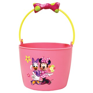 Midwest Glove MM8KF6 Kids Plastic Minnie Mouse Gardening Bucket