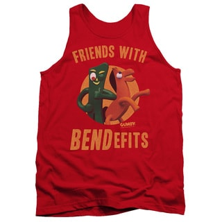 Gumby/Bendefits Adult Tank in Red