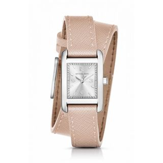 Michael Kors Women's MK2440 'Taylor' Pink Leather Watch