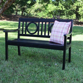 Buy Black Wood Outdoor Benches Online At Overstock Com Our Best