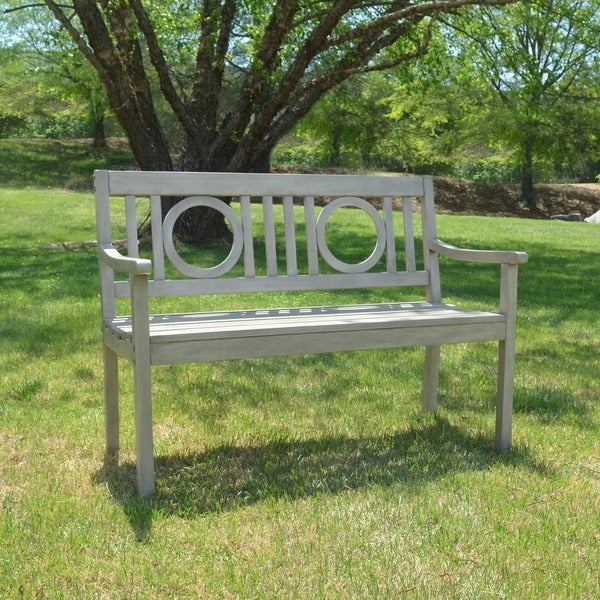 Shop Havenside Home Surfside Outdoor Bench Free Shipping Today