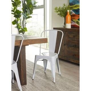 Aurelle Home Emilia Dining Chair (Set of 2)