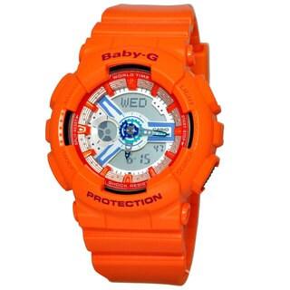Casio Women's BA110SN-4A Baby-G Silver Dial Watch