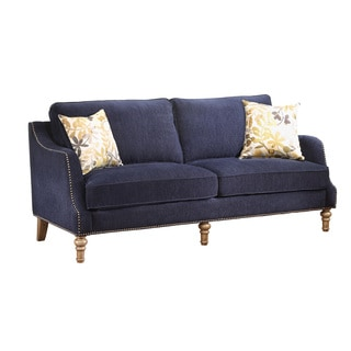 Coaster Company Blue Transitional Sofa/Loveseat