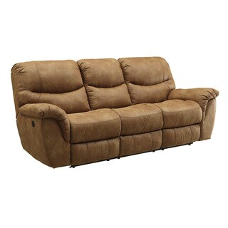Coaster Company Brown Microfiber Motion Sofa