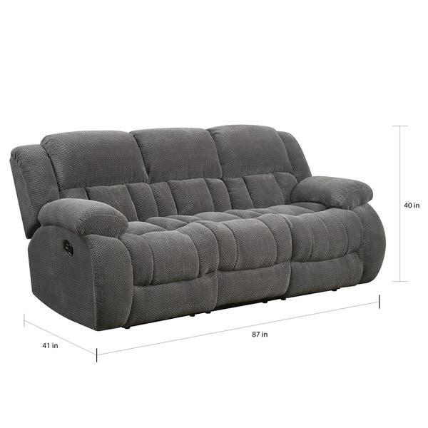 Ideas About Coaster Reclining Loveseat Brown Chenille