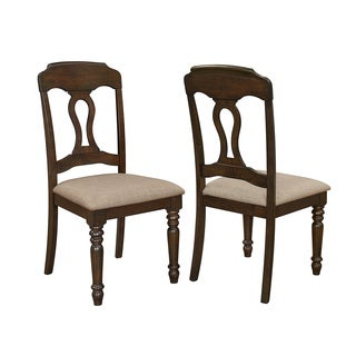 Coaster Brown Dining Chairs (Set of 2)