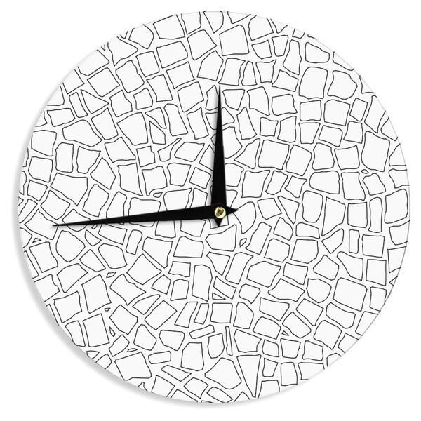 KESS InHouse Project M 'British Mosaic' Wall Clock